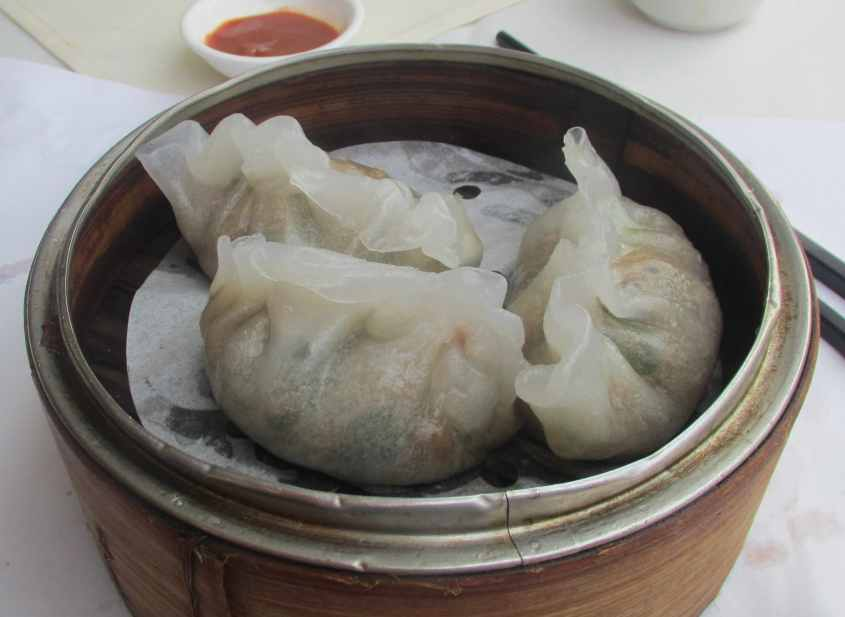 Steamed Pork and Peanut Dumpling 1