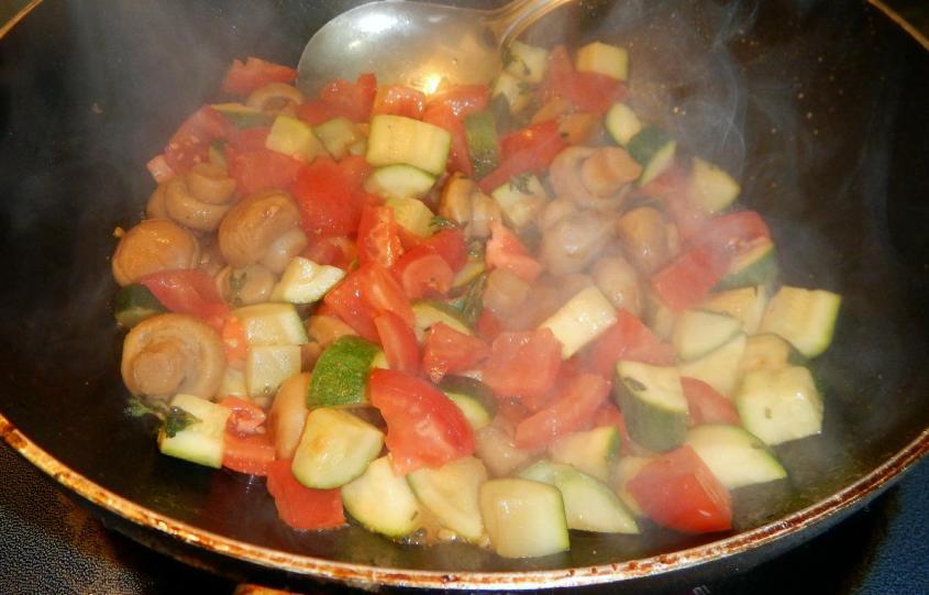 Zucchini with Mushrooms5