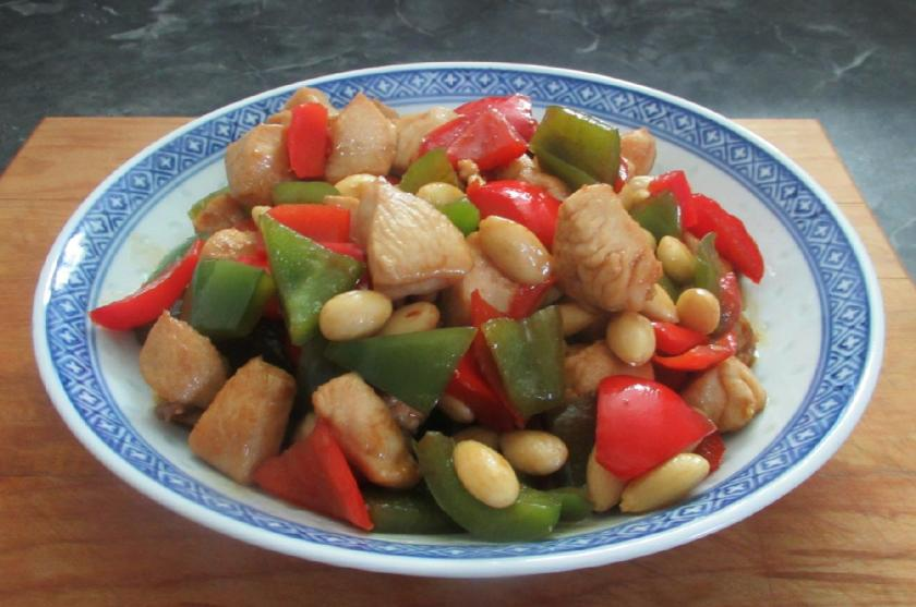 Chicken with Peppers 1