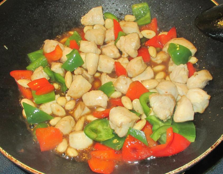 Chicken with Peppers 8
