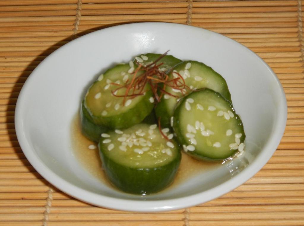 Dressed Cucumbers 1