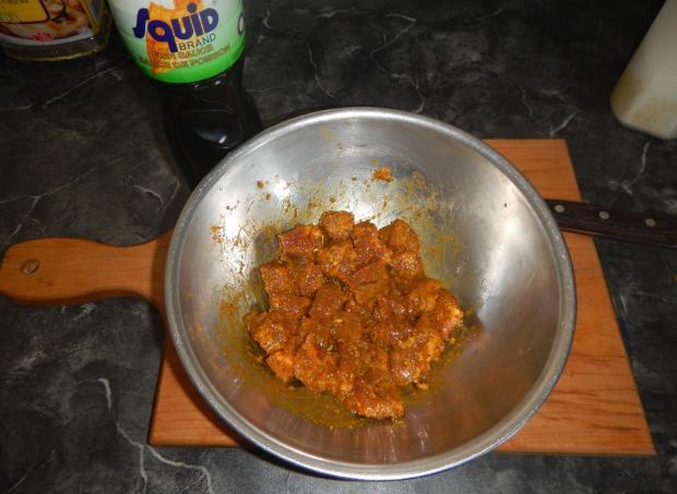 Pan-fried Beef Satay 2