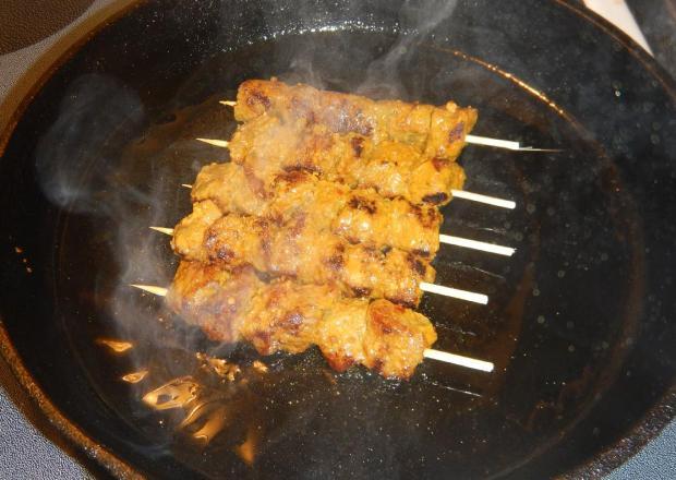 Pan-fried Beef Satay 3