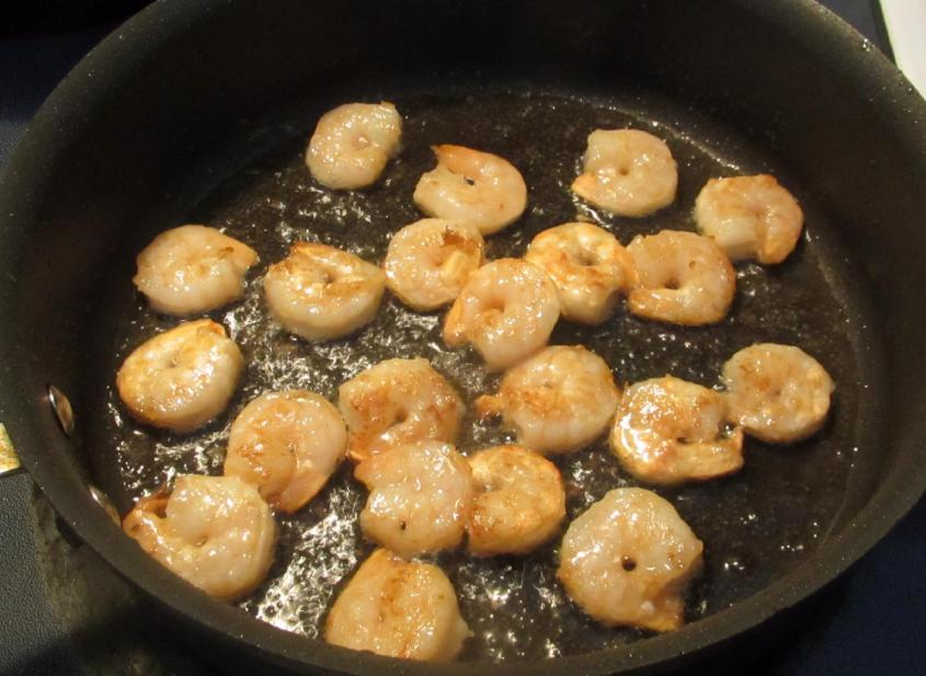 Sweet Sesame Shrimp 3