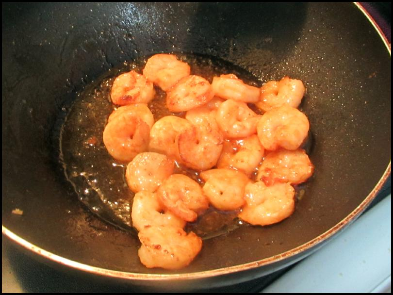 Sweet Sesame Shrimp 5