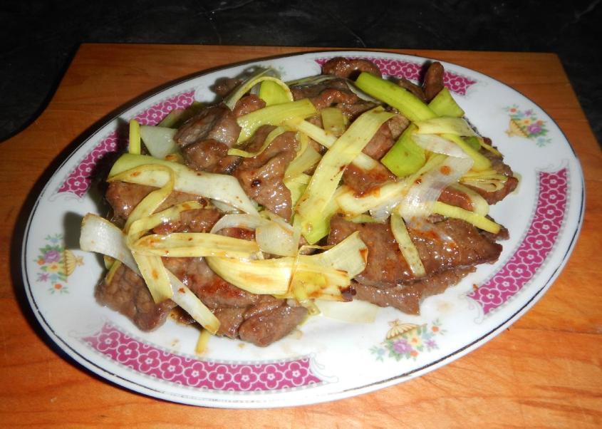 Beef with Leek 1
