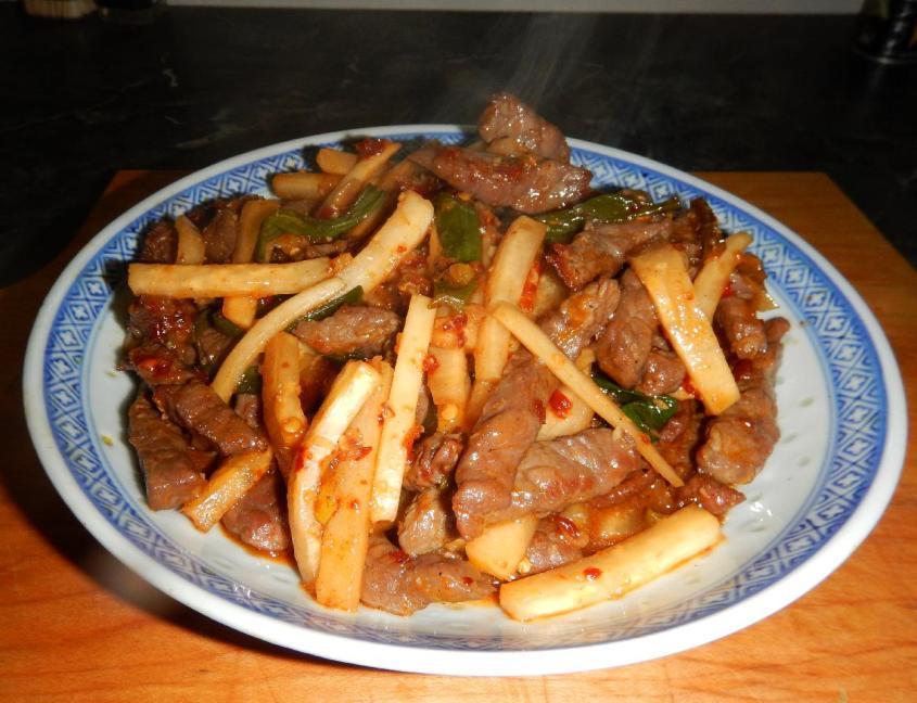 Daikon Beef 1
