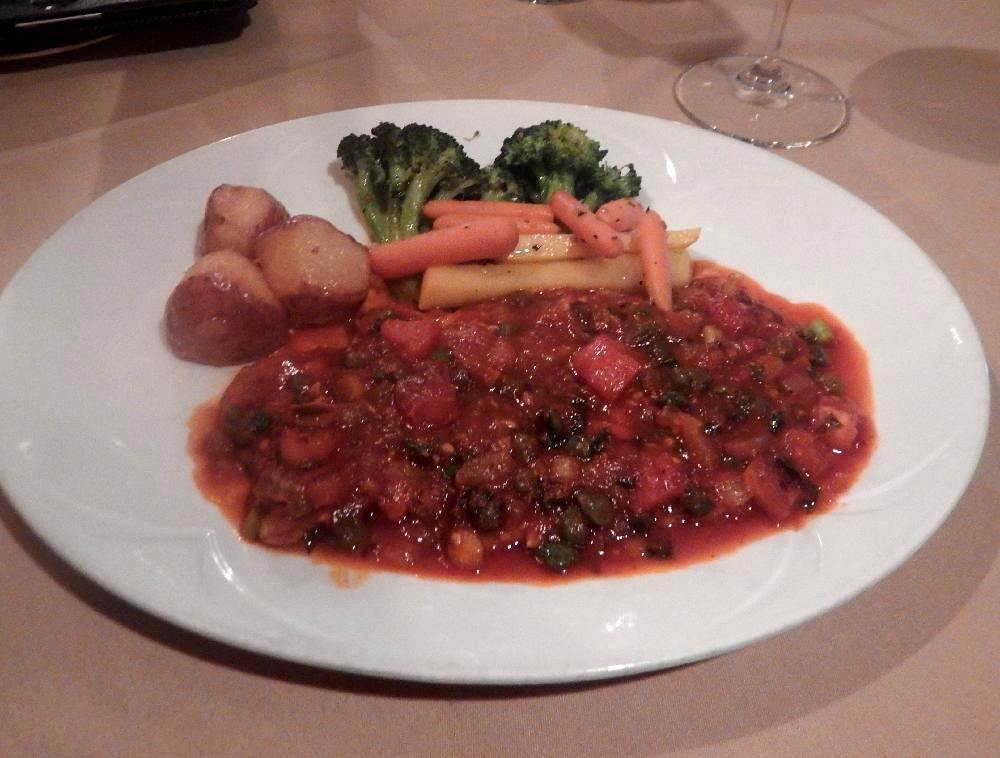 Mezzalune Veal Puttanesca