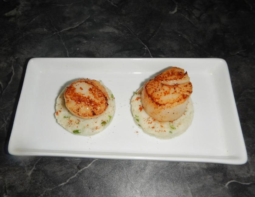 Scallop with Truffle 8