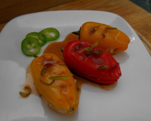 Shrimp Stuffed Peppers 1