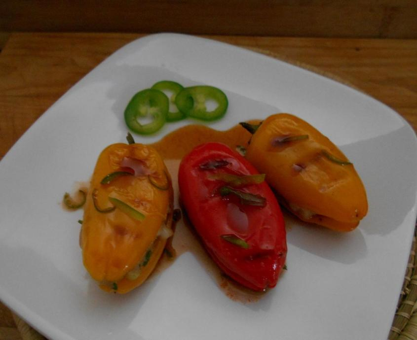 Shrimp Stuffed Peppers 11