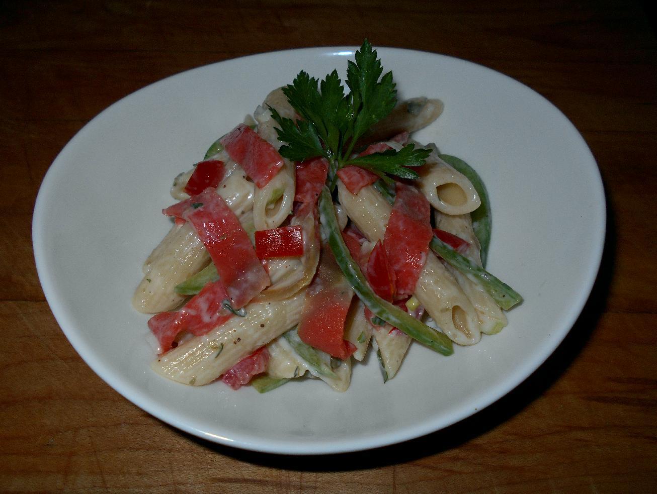 Smoked Salmon Pasta Salad 1