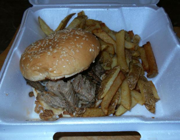 Onion Steak Sandwich 2