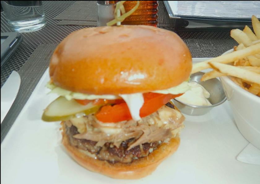 The Duck Burger