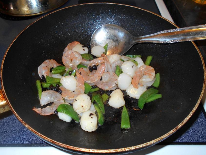 Black Bean Shrimp and Scallop 3