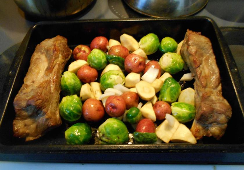 Roasted Brussel Sprouts 3