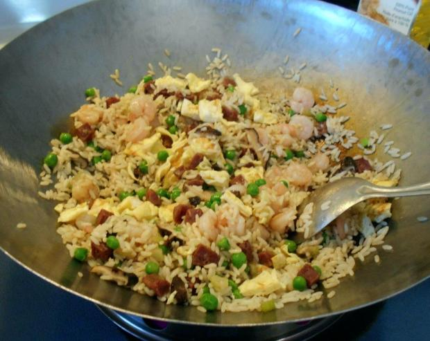 Shrimp and Sausage Fried Rice 5