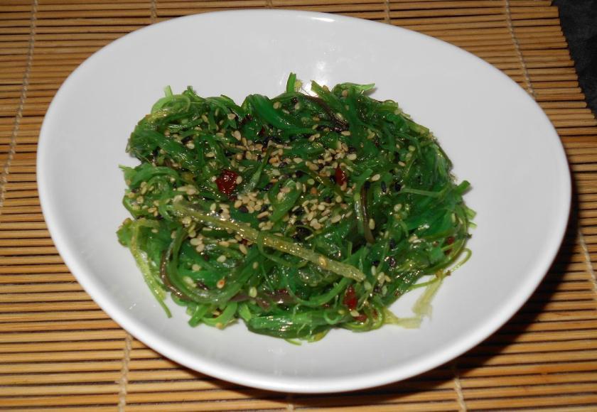 Supermarket Seaweed Salad 1