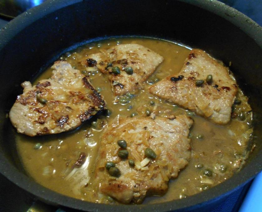 Veal Piccata 6