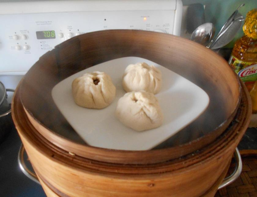Pork and Onion Baozi 08
