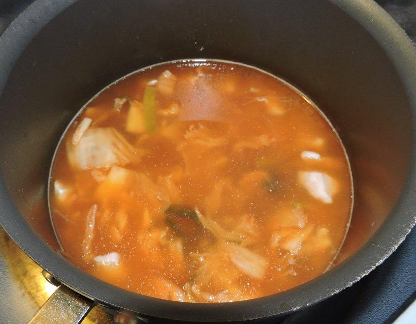 Kimchi Soup 4