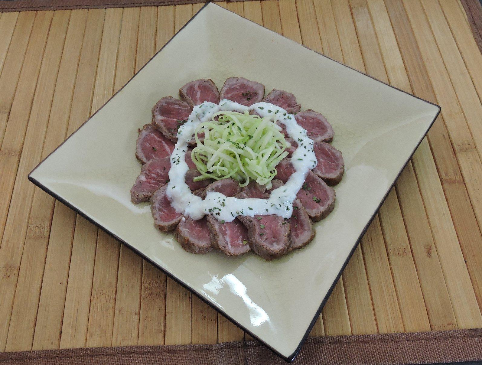 Beef Tataki with Horseradish Sauce 1