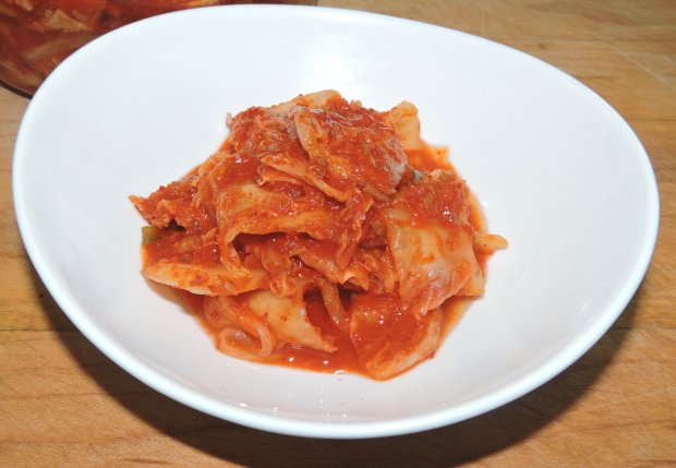 Kimchi with Shrimp and Scallop 1