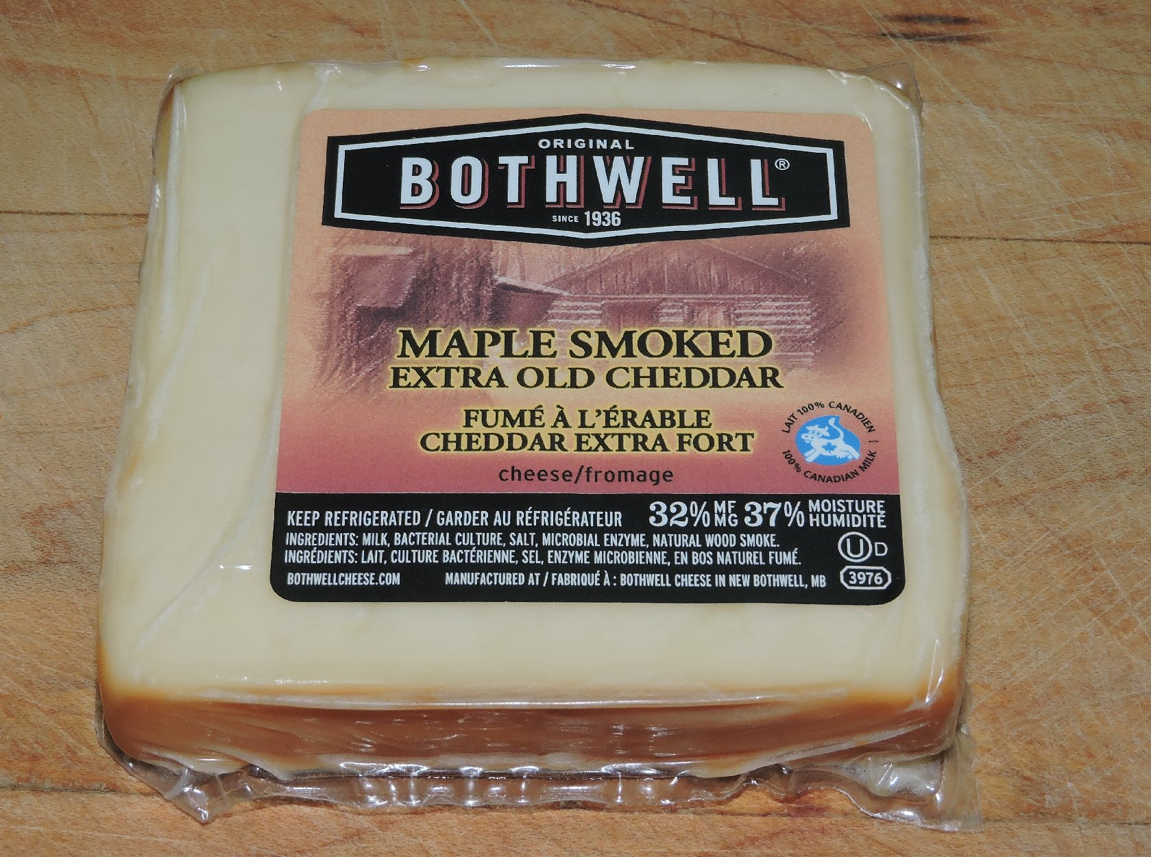 Bothwell Brand Maple Smoked Cheddar