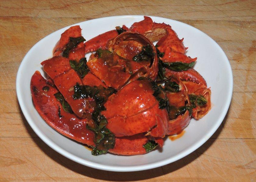 Chilli Basil Lobster 1