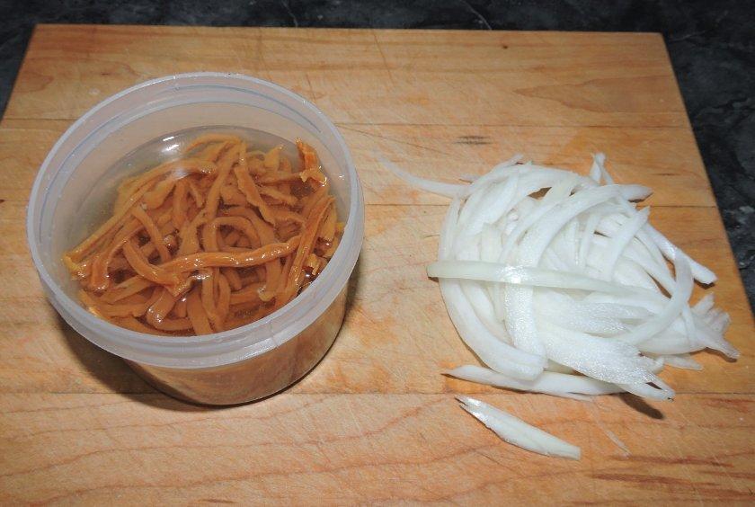 Salted Radish Banchan 2