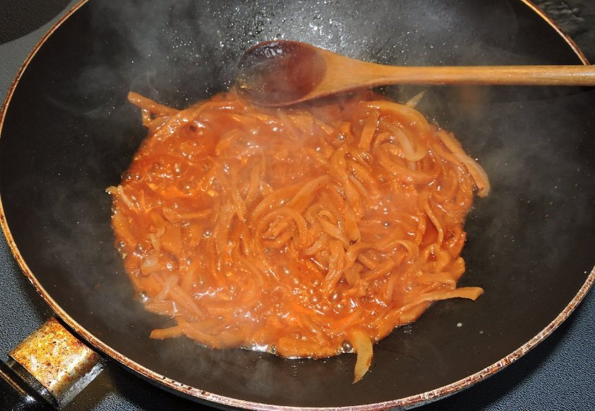 Salted Radish Banchan 5