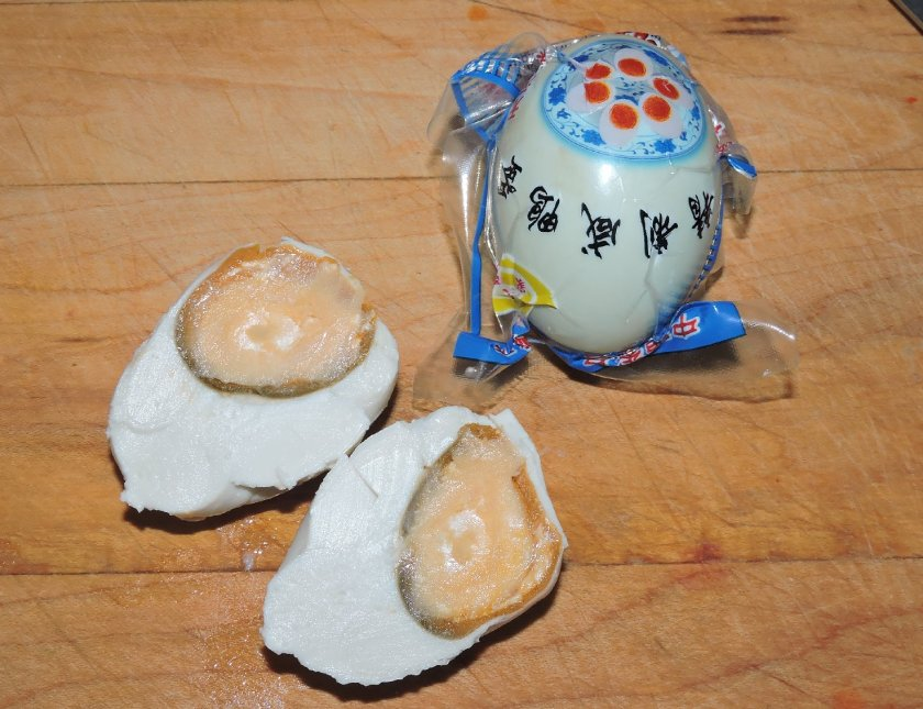 Salted Duck Egg Fried Shrimp 2