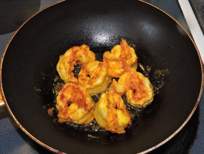 Spicy Bagoon Prawns 4