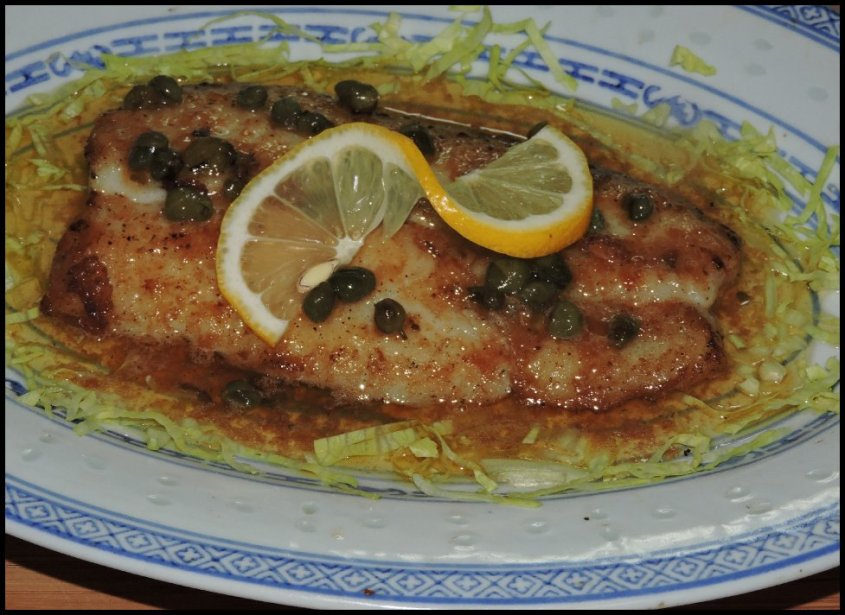 Basa Fillet in Lemon-Caper Butter 1