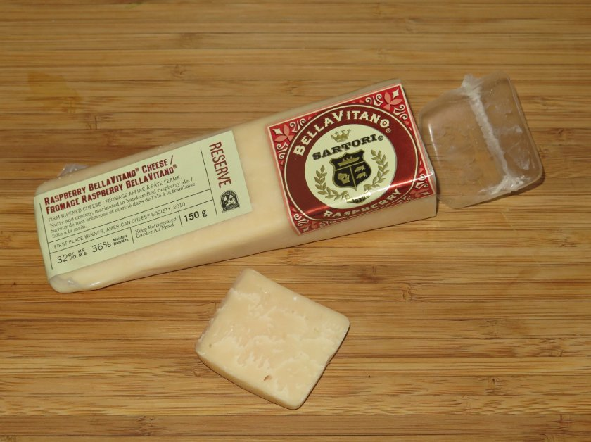 Bellavitano Raspberry Cheese