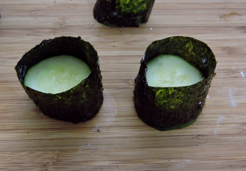 Cucumber Gunboats 4