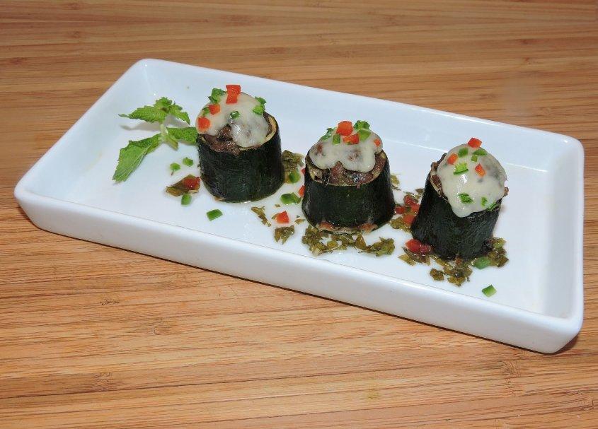 Lamb Stuffed Zucchini 1