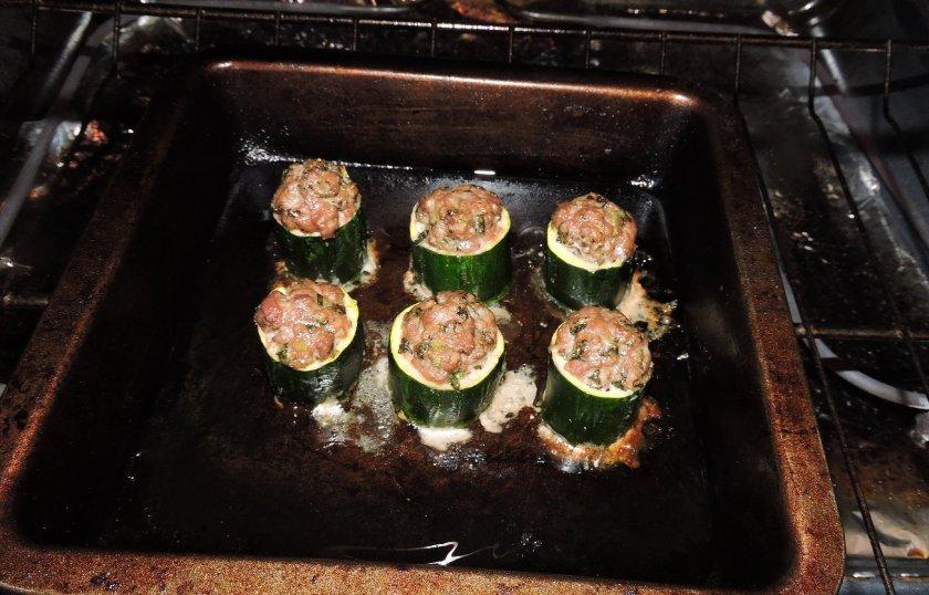 Lamb Stuffed Zucchini 5