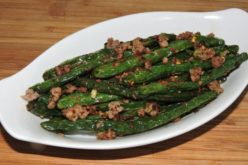 Sichuan Dry-Fried Green Beans 1
