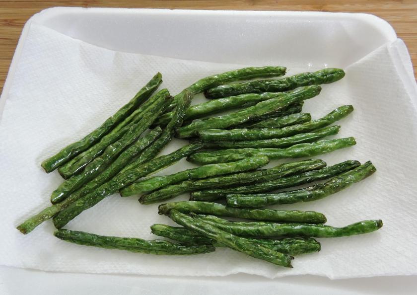 Sichuan Dry-Fried Green Beans 5