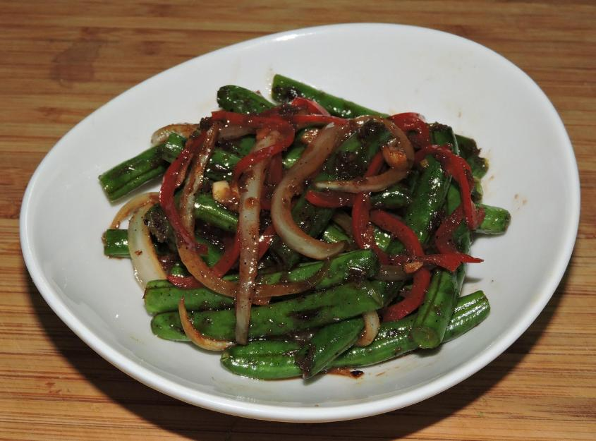 Sichuan Dry-Fried Green Beans 9