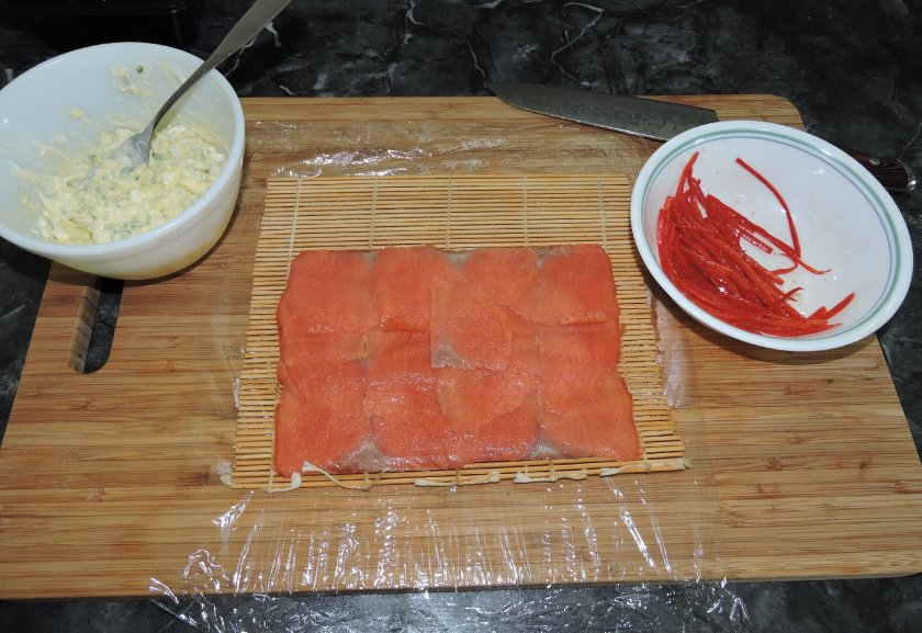 Smoked Salmon Roll 2
