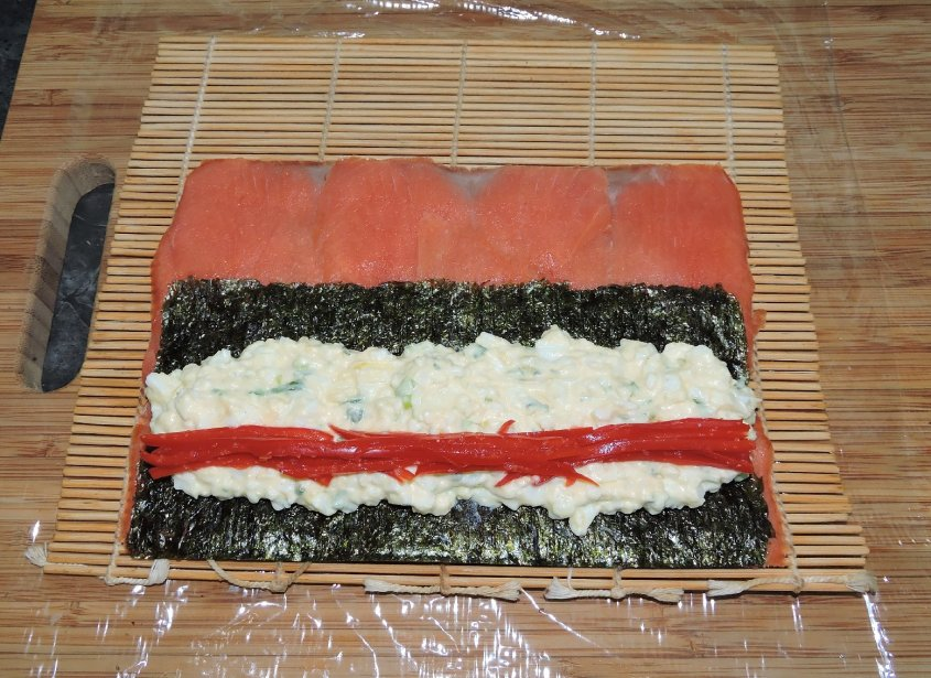 Smoked Salmon Roll 3