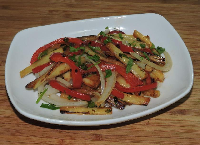 Parsnip and Red Pepper in Lemon Butter 01