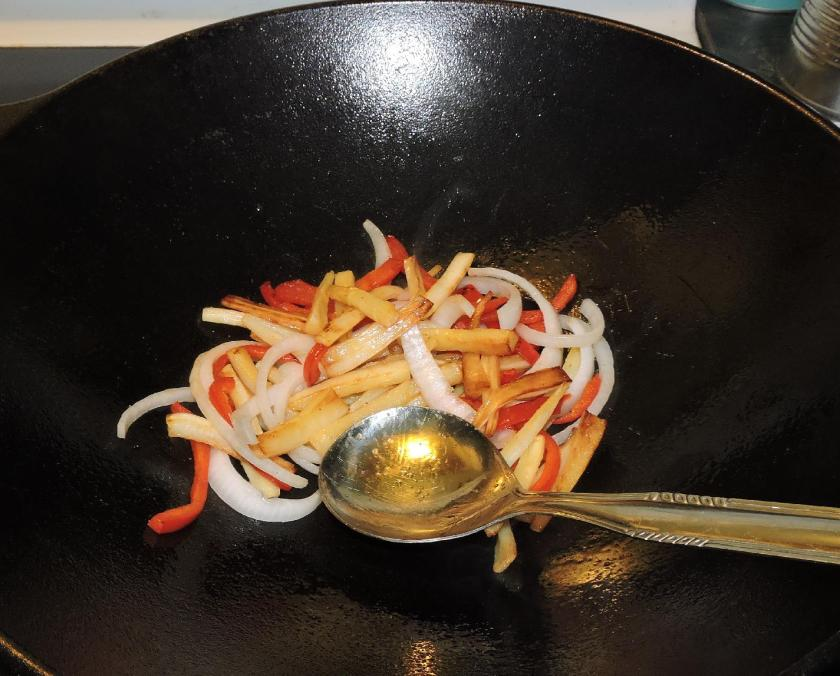 Parsnip and Red Pepper in Lemon Butter 05