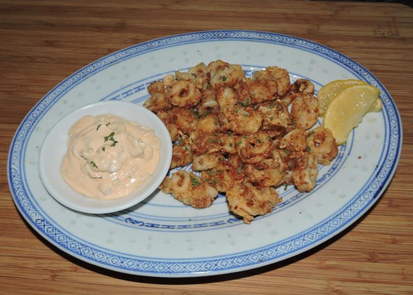 Spicy Squid Rings 1
