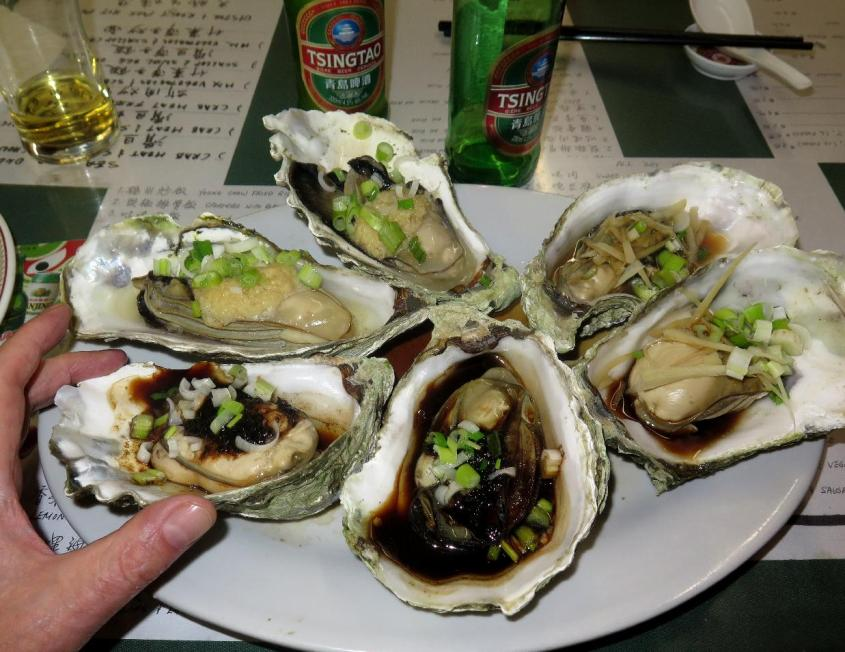 Steamed Oysters 1