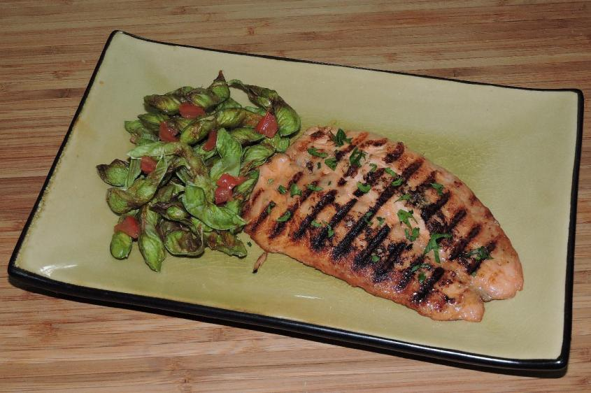 Miso-Grilled Char 1