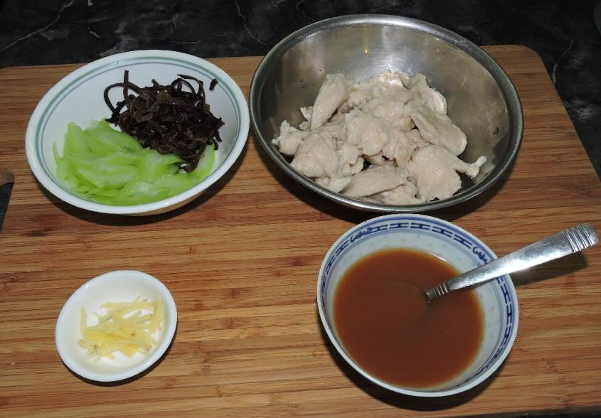 Chicken with Tree Ears and Celery 02