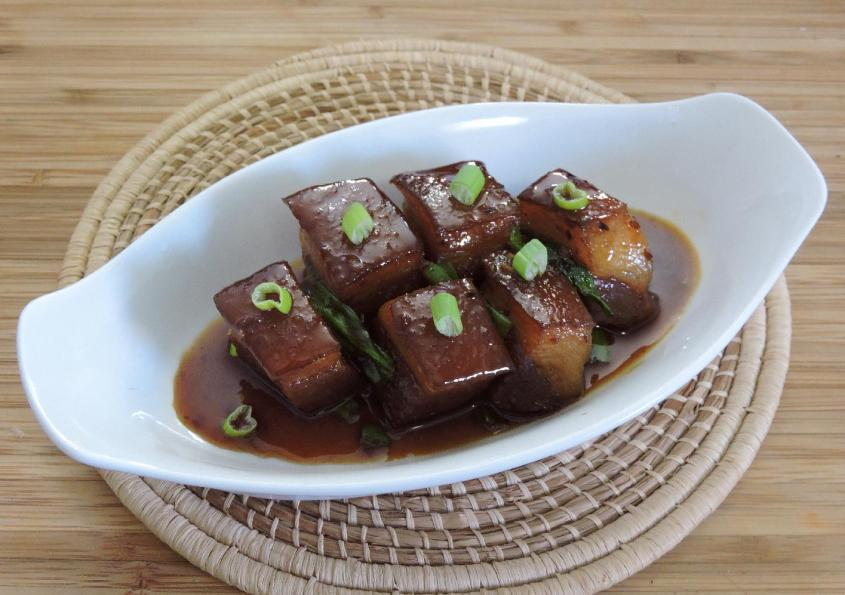Spicy Red-braised Pork Belly 1